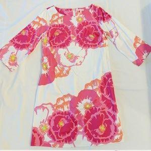 Lilly Pulitzer Shauna tunic floral dress 12